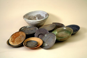 大谷3号窯で出土した9世紀末の焼き物